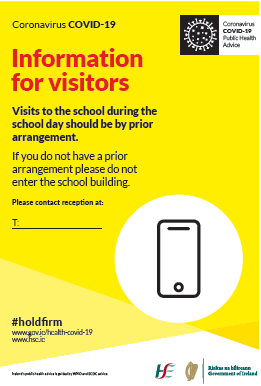 INFO FOR VISITORS POSTER